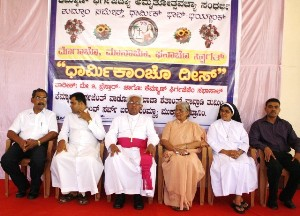 Religious Day Celebration held at Kemmannu Church.